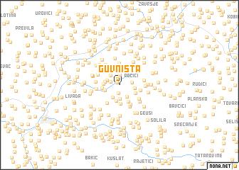 map of Guvništa