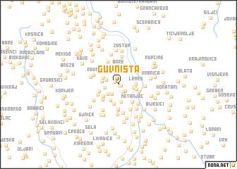 map of (( Guvništa ))