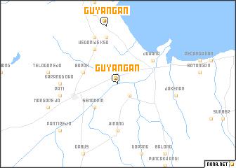 map of Guyangan