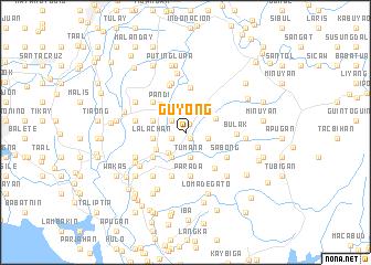 map of Guyong