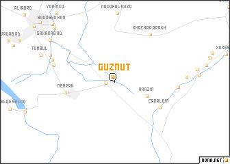 map of Güznüt