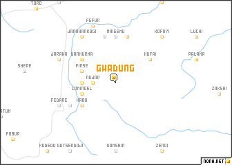 map of Gwadung