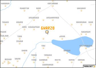 map of Gwarzo