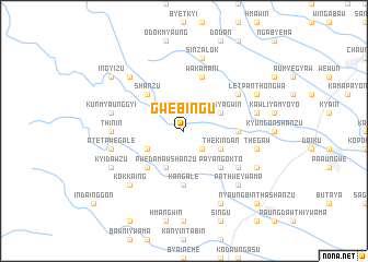 map of Gwebingu