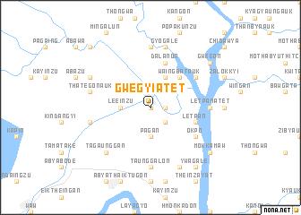 map of Gwegyi Atet