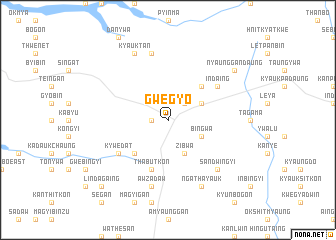 map of Gwegyo
