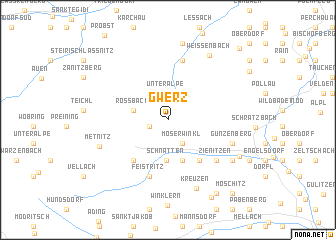 map of Gwerz