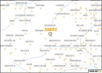 map of Gwerz