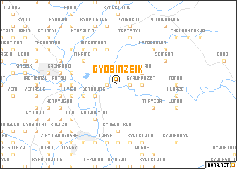 map of Gyobinzeik