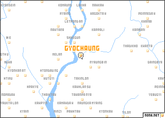 map of Gyochaung