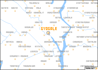 map of Gyogale