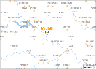 map of Gyogon