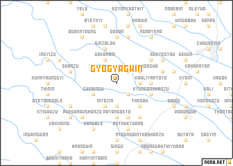 map of Gyogyagwin