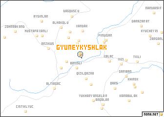 map of Gyuneykyshlak