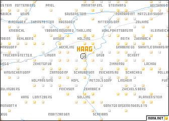 map of Haag