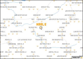 map of Haale