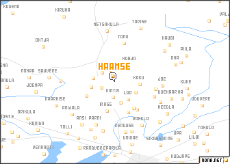 map of Haamse
