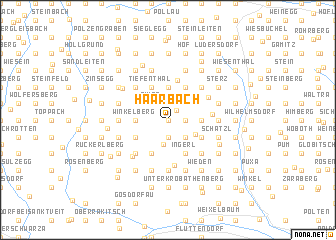 map of Haarbach