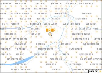 map of Haar