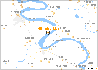 map of Haaseville