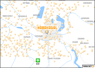 map of Haba Kadal