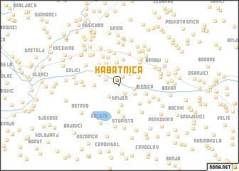 map of Habatnica
