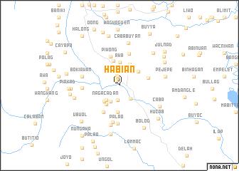 map of Habian