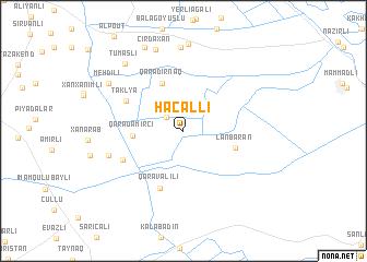 map of Hacallı
