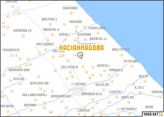 map of Hacıǝhmǝdoba