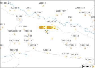 map of Hacıbükü