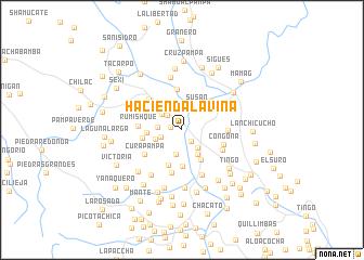 map of Hacienda Laviña
