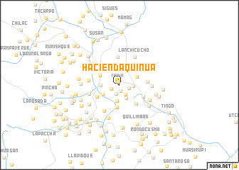map of Hacienda Quinua