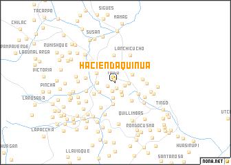 map of Hacienda Quinua