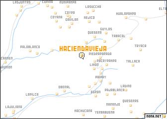 map of Hacienda Vieja