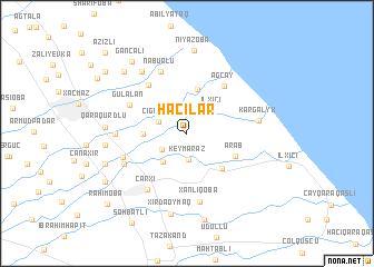 map of Hacılar