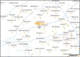 map of Hacılı