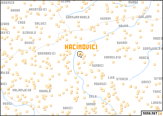 map of Haćimovići