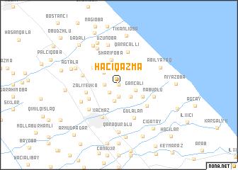 map of Hacıqazma