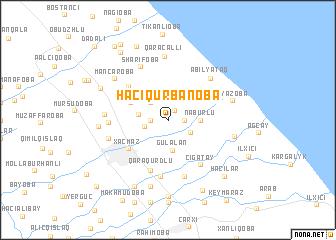 map of Hacıqurbanoba