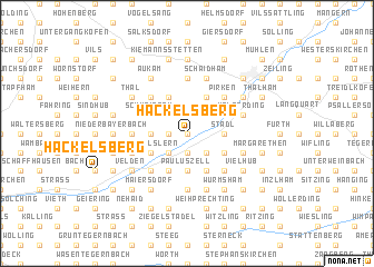 map of Hackelsberg