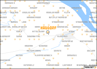 map of Haddorf