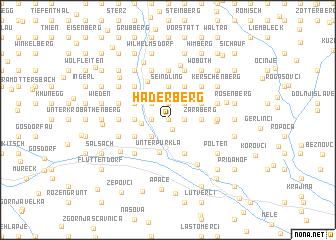 map of Haderberg