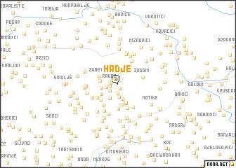 map of Hadje