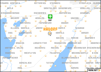 map of Hadorf