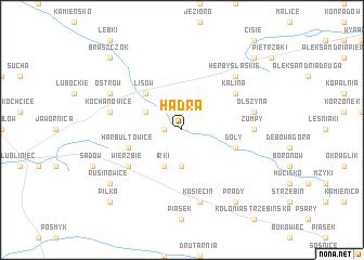 map of Hadra