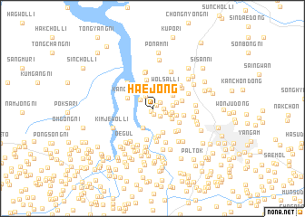 map of Haejŏng
