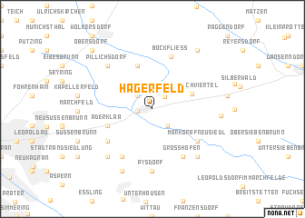 map of Hagerfeld