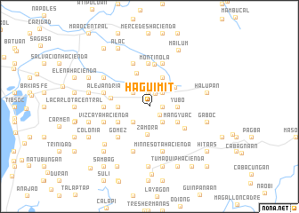 map of Haguimit