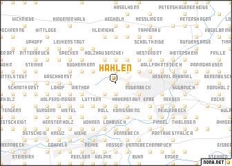 map of Hahlen