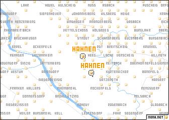 map of Hähnen